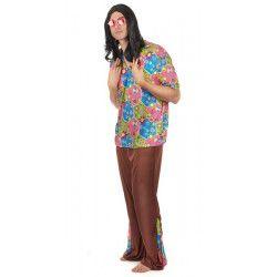 Déguisements, Déguisement hippie motifs colorés homme taille M-L, 59500, 19,90€