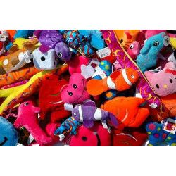 Lot 50 peluches 8 à 10 cm Jouets et articles kermesse LOT50PELU