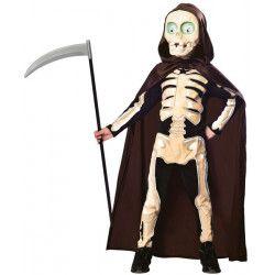 Déguisements, Déguisement petit squelette faucheur garçon, 990279-, 29,90€