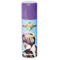 Bombe cheveux violets 125 ml Accessoires de fête 631360-BIS