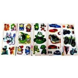 Jouets et kermesse, Stickers avec micro billes, 41234, 0,60€