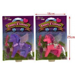 Jouets et kermesse, Petit poney ailé avec accessoires /N/, 10216, 1,10€