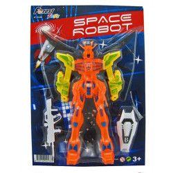 Blister robot de l'espace avec accessoires 19 cm Jouets et kermesse 21335