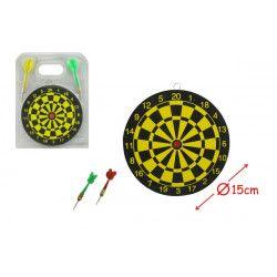 Cible 15 cm avec 2 flèches kermesse Jouets et articles kermesse 22868FO