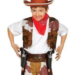 Cartouchière double avec pistolets enfant Accessoires de fête 18523