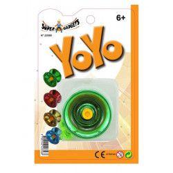 Blister yoyo métal 5.5 cm Jouets et kermesse 23568