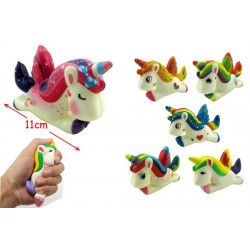 Figurine squishy licorne anti-stress 11 cm Jouets et articles kermesse 24596