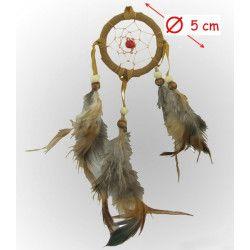 Déco festive, Attrape-rêves indien 5 cm, 2907, 1,00€