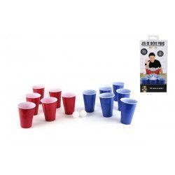 Jeu bière pong avec gobelets et boules Jouets et kermesse 3091