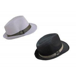 Accessoires de fête, Chapeau mafia borsalino, 75215, 2,20€