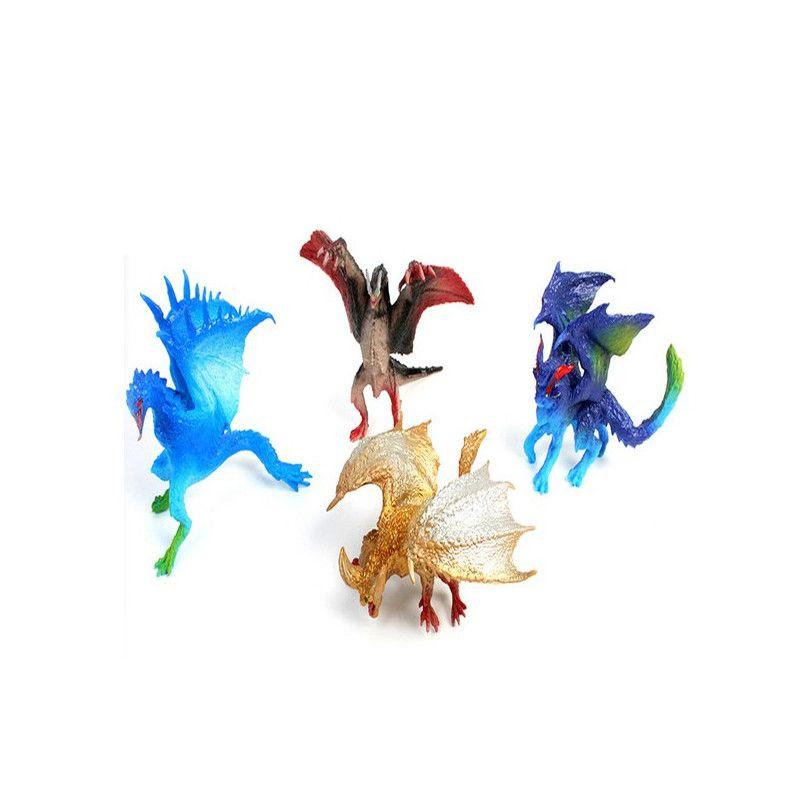Animal dragon PVC 9 cm vendu par 12 Jouets et articles kermesse 10990-LOT