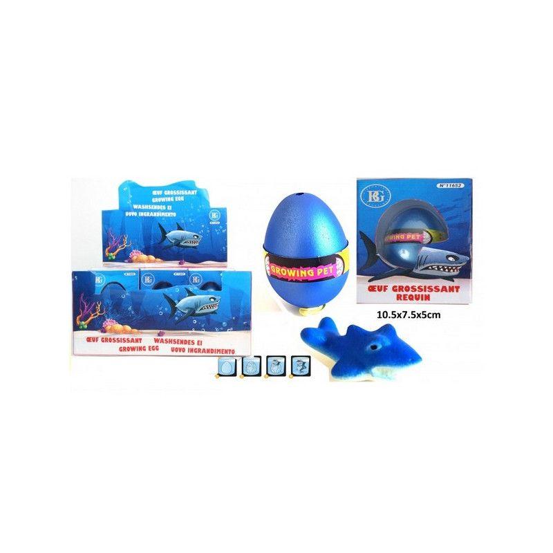 Requin grossissant 6 cm kermesse vendu par 12 Jouets et articles kermesse 11652-LOT