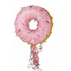 Pinata donut à tirer Déco festive 40125