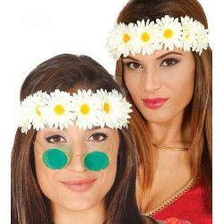 Bandeau fleurs hippie Accessoires de fête 18679
