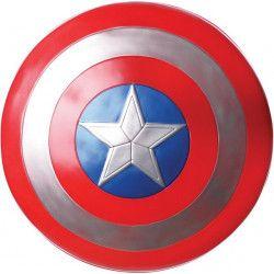 Bouclier PVC Captain America™ adulte Accessoires de fête I-35527