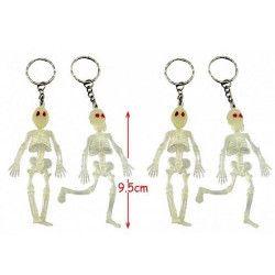 Porte clés squelette x 12 Jouets et articles kermesse 18939