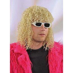 Accessoires de fête, Perruque Michel blonde et frisée, 1900099, 12,50€