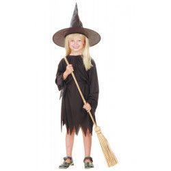 Déguisement sorcière noire fille Déguisements 8728869-