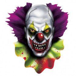 Décoration halloween de clown terrifiant décoration Déco festive 190192