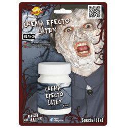 Maquillage crème effets latex blanc sans latex. Accessoires de fête 15639