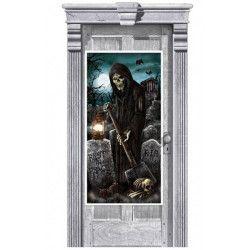 Décorations de fenêtre Halloween Cimetière Déco festive 241155