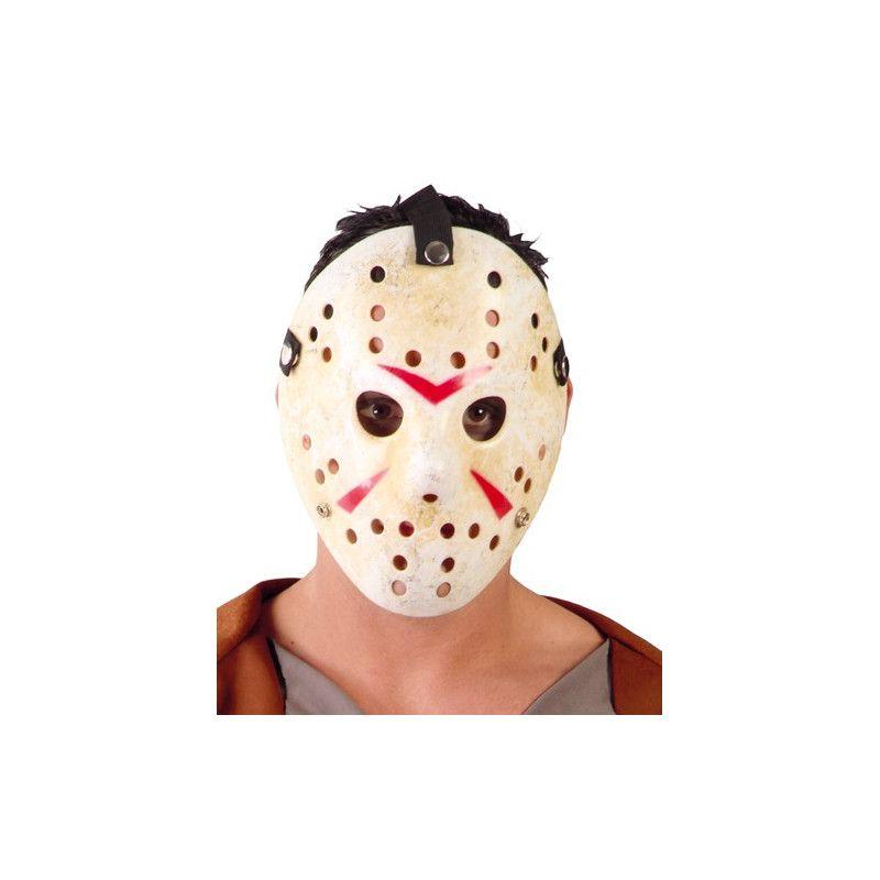 Masque hockey jason en plastique Accessoires de fête 2641