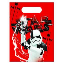 Sacs anniversaire The Last Jedi™ x 6 Déco festive LSWA88553