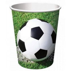 Party gobelets football vert x 8 Déco festive GFOG90652