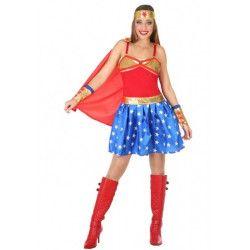 Déguisement super woman femme Déguisements 5461-