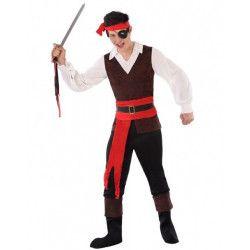 Déguisement pirate flibustier adolescent Déguisements 61621