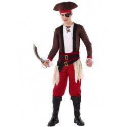 Déguisement pirate des Caraïbes adolescent Déguisements 61623