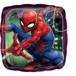 Ballon alu carré Spider Man 43 cm Déco festive 3466301