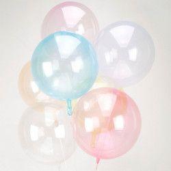 Ballon alu ORBZ 40 cm - Fuchsia Déco festive 8284811