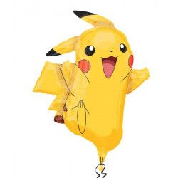Ballon aluminium Pikachu Pokémon 78 cm Déco festive 2946001