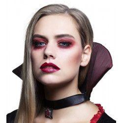 Lentilles fantaisie oeil de vampire grises Accessoires de fête 40013