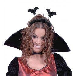 Accessoires de fête, Diadème halloween avec chauve-souris, 19271, 1,90€