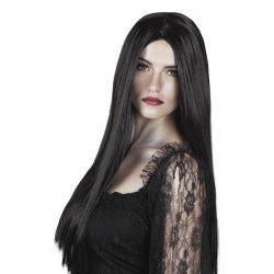 Perruque sorcière noire adulte Accessoires de fête 86085