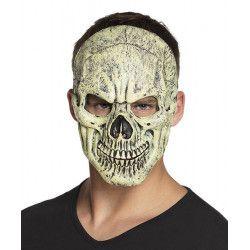 Masque visage de squelette adulte Accessoires de fête 72238