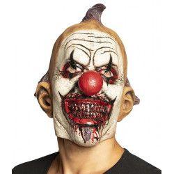 Masque latex clown maléfique adulte Accessoires de fête 97577