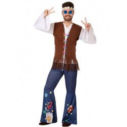 Déguisement hippie peace and love homme Déguisements 6000-