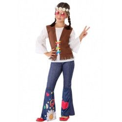 Déguisement hippie peace and love fille Déguisements 6009-