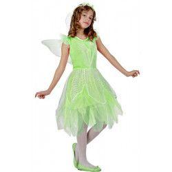 Déguisement fée Verte fille 4-6 ans Déguisements 10733