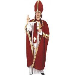 Déguisement évêque rouge homme taille M-L Déguisements 93947
