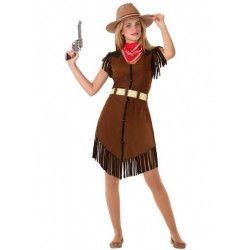 Déguisement cowgirl marron adolescente Déguisements 61597