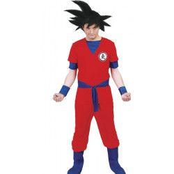 Déguisement guerrier Manga homme taille L Déguisements 80627