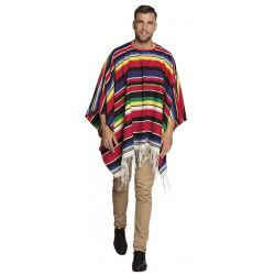 Poncho mexicain Rodrigo adulte Déguisements 54420