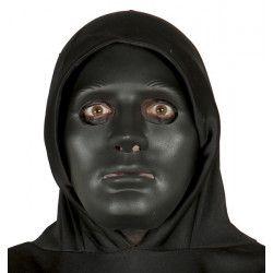 Masque noir PVC Halloween Accessoires de fête 2659