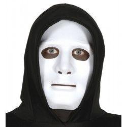Masque blanc PVC Halloween Accessoires de fête 2658