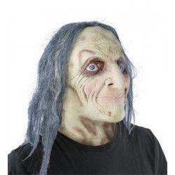 Masque latex sorcier diabolique adulte Accessoires de fête 41561