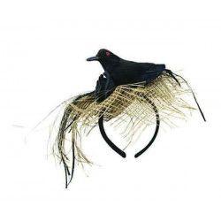 Serre-tête corbeau noir adulte Accessoires de fête 40707
